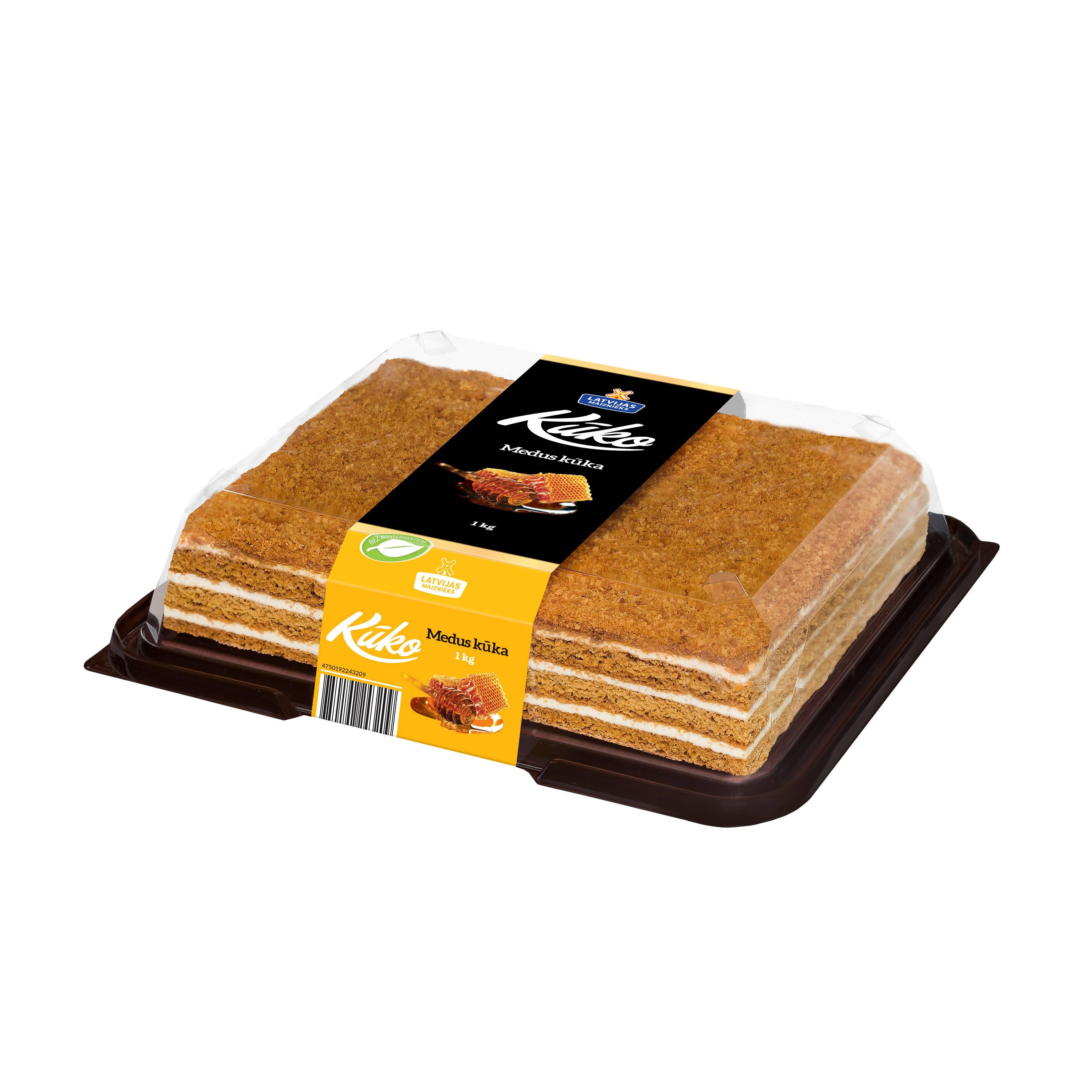 Торт медовый Maiznieks, 1kg